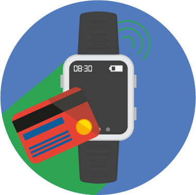 Set up Google pay on smartwatch