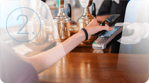You can't accept contactless card payments